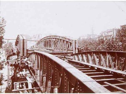 Construction du métropolitain. Paris, c....