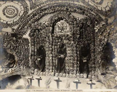 Architectures (Italie, Espagne). Sculpture....