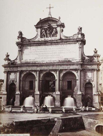 Italie, 19e siècle. Rome. Naples. Turin....