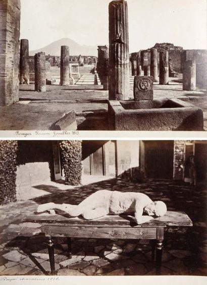 Italie, 19e siècle. Pompéi, c. 1880. Album...