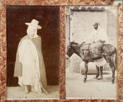 Types tunisiens et algériens, 1881. 19 tirages...