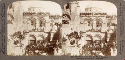 Terre Sainte, c. 1880. 20 vues stéréoscopiques...