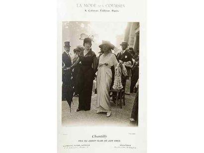 La mode aux courses, 1912-1913. Auteuil....