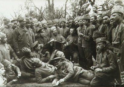 Première Guerre Mondiale. Front russe-allemand,...