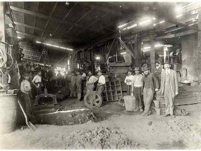 Argentine, 1922-1923. Photographies industrielles...