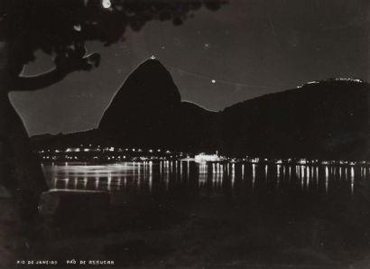 Brésil, c. 1950. Rio de Janeiro (architecture,...