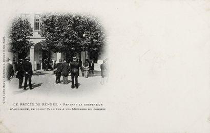 AFFAIRE DREYFUS - Cartes postales - Procès...