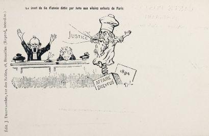 AFFAIRE DREYFUS - Cartes étrangères - 32...