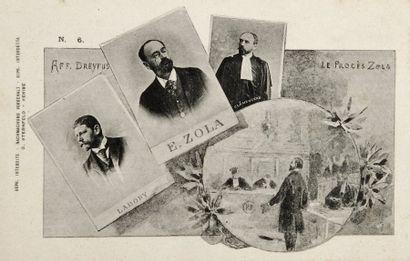 AFFAIRE DREYFUS - Cartes postales de Sternfeld...