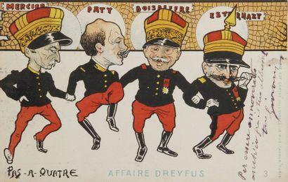 AFFAIRE DREYFUS - Cartes postales de Enzo...