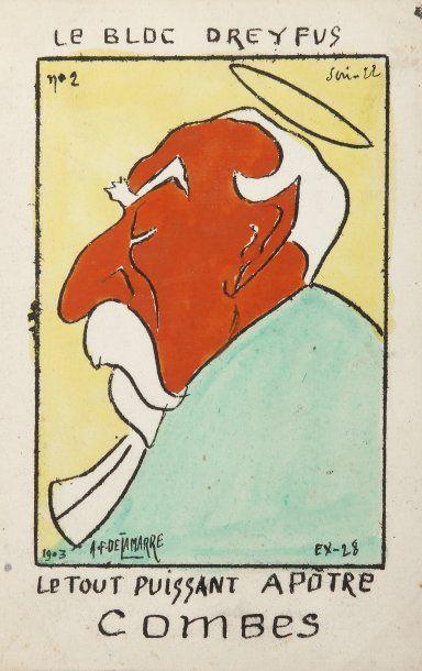 AFFAIRE DREYFUS - Cartes postales françaises...