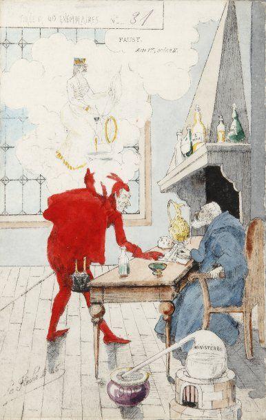 AFFAIRE DREYFUS - Cartes postales de « Saint Lubin », 13 cartes dont 7 en tirage...