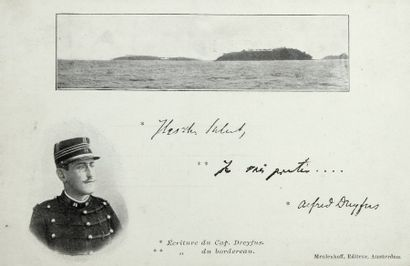 AFFAIRE DREYFUS - Cartes postales hollandaises,...