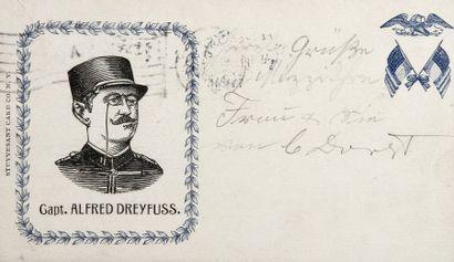 AFFAIRE DREYFUS - Carte postale américai...