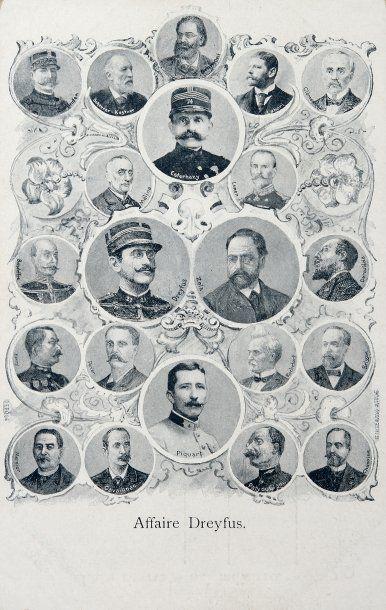 AFFAIRE DREYFUS - Cartes postales autrichiennes,...