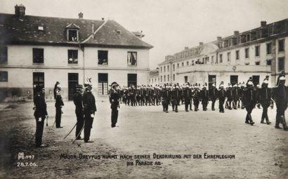 AFFAIRE DREYFUS - Cartes postales allemandes,...