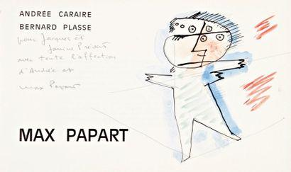 Max PAPART - André CARAIRE, Bernard PLASSE
