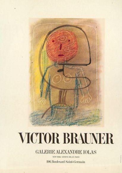Victor Brauner (1903-1966) (d'après)