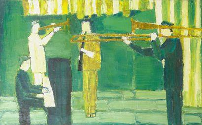 Bernard BYGODT (1939-2004) Les Musiciens,...