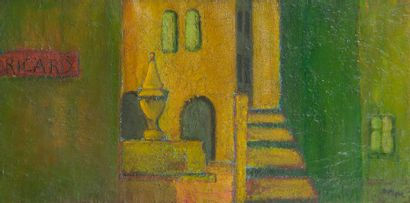 Bernard BYGODT (1939-2004) Ricard, 1958....