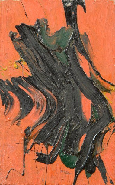 Bernard BYGODT (1939-2004) Composition abstraite,...