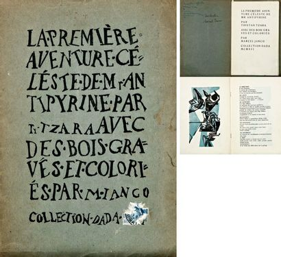 Tristan TZARA (1896-1973) - Marcel JANCO (1895-1984)
