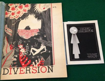 [PHARMACIE]. Ensemble de 2 brochures : -...