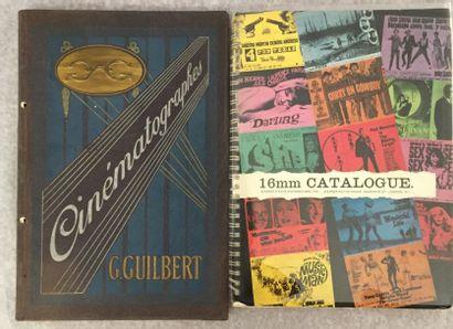 [CINÉMA]. Ensemble de 2 catalogues : - GUILBERT....