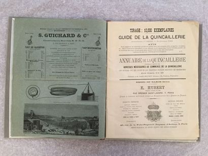 [QUINCAILLERIE]. Guide la quincaillerie....
