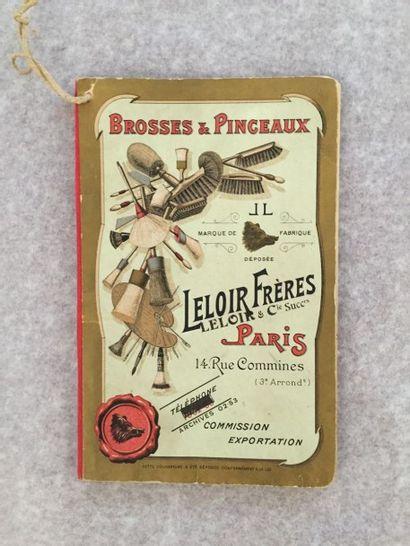 [QUINCAILLERIE] LELOIR FRÈRES. Brosses &...