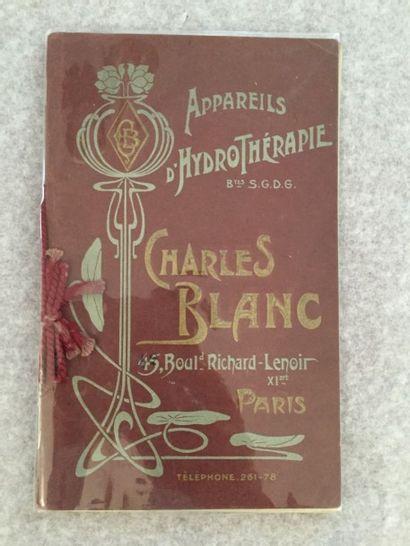 [SANITAIRES] BLANC (Charles). Fabrique d'Appareils...
