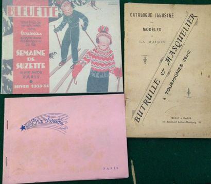 [ENFANT]. Ensemble de 3 catalogues : - BUTRULLE...