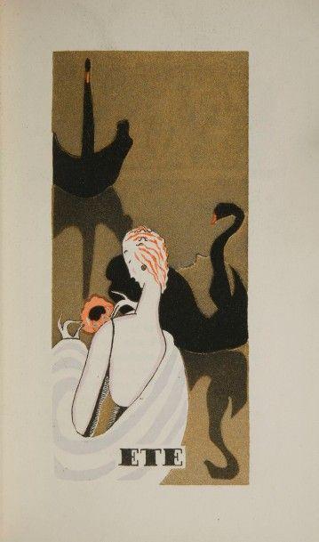 [FOURRURES]. Almanach de la Gazelle. Paris...