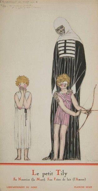 [SPECTACLE] LEPAPE (Georges). Costumes de Théâtre, Ballets & Divertissements. Paris...