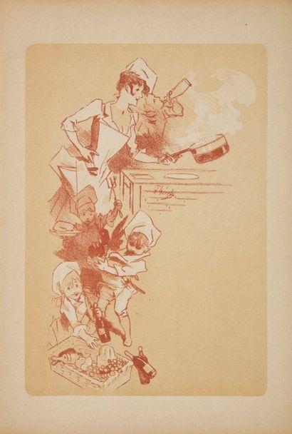 [ARTS] CHÉRET (Jules). Exposition Jules Chéret. Pastels, lithographies, dessins,...