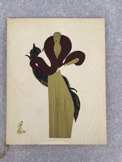 [FOURRURES] S. LONDON. Fur Fashions 1933....