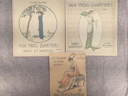 [GRANDS MAGASINS] AUX TROIS QUARTIERS. Ensemble...
