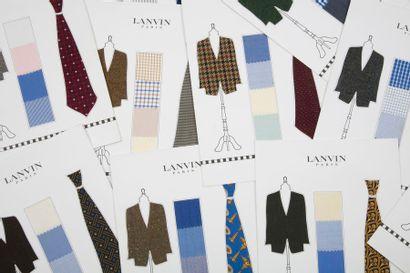 [HAUTE COUTURE] LANVIN. L'homme Lanvin. Collection...