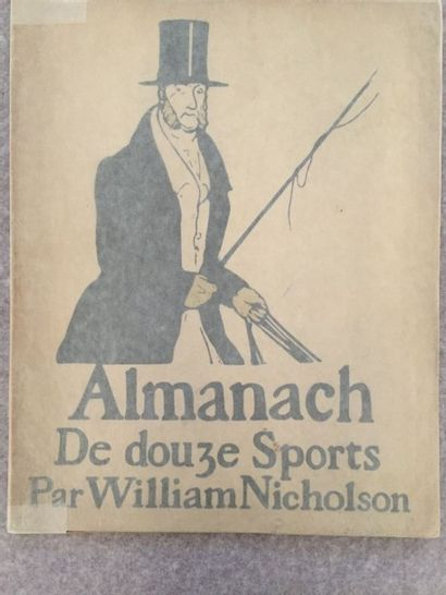 [SPORT] NICHOLSON (William). Almanach De...