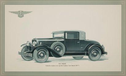 [AUTOMOBILES] CADILLAC - LA SALLE. Les Automobiles Cadillac & La Salle. Paris :...