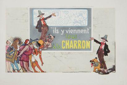 [AUTOMOBILES] CHARRON. Charron Ltd. Paris : imprimerie de l'Office d'éditions d'Art,...