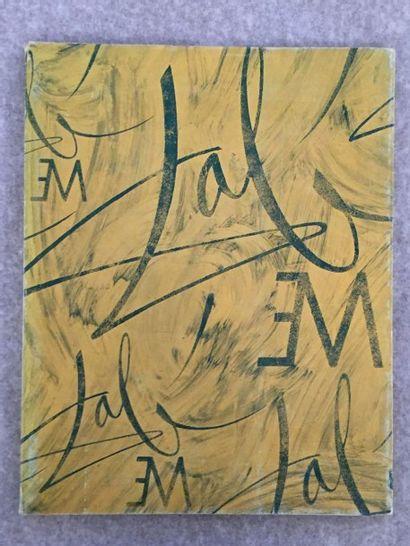 [ARTS] DALI (Salvador). Hommage à Meissonier. Paris : Hôtel Meurice, 1967. — In-4,...