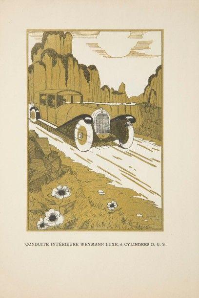 [AUTOMOBILES] TALBOT. Automobiles Talbot. Suresnes : Talbot, (1925/26). — In-8,...