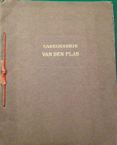 [AUTOMOBILES] VANDEN PLATS. Carrosserie Van...