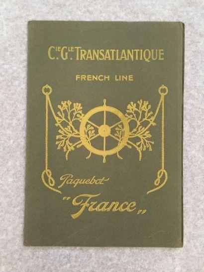 [BATEAUX]. FRANCE. Coupe longitudinale du...
