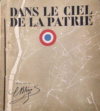 [AVIATION] COCTEAU (Jean). Dans le ciel de la patrie. Paris : Société Spad, 1918....