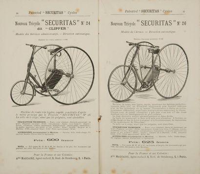 [CYCLES] MAQUAIRE (Amédée). Traité pratique...