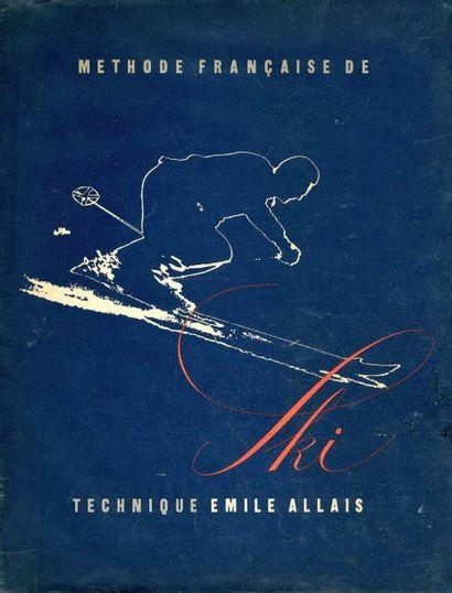 BOUCHER, PIERRE (1908-2000) - ALLAIS, ÉMILE (1912-2012) Méthode française de ski....
