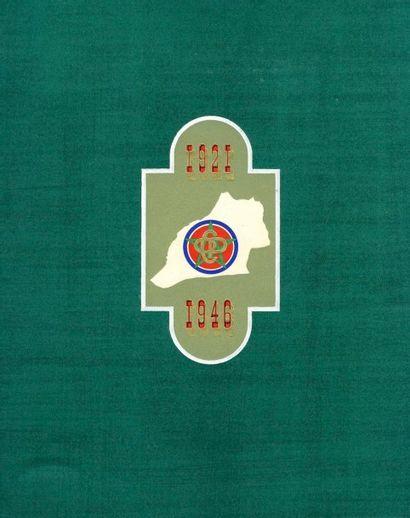 GAMET, ANDRÉ (né en 1919) Office Chérifien des Phosphates. 1921-1946. Éditions africaines...
