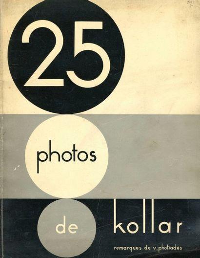 KOLLAR, FRANÇOIS (1904-1979) 25 Photos de...